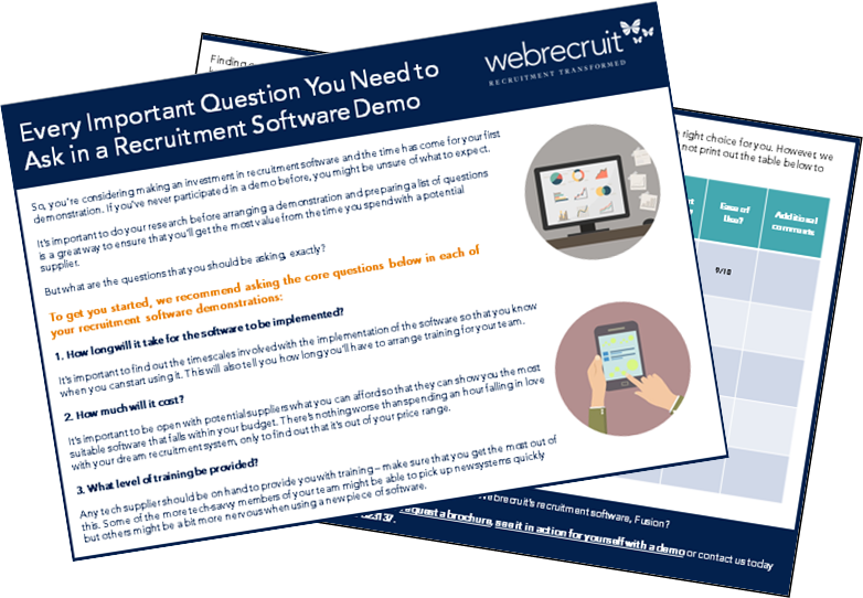 Every Important Question Your Need to Ask in a Recruitment Software Demo